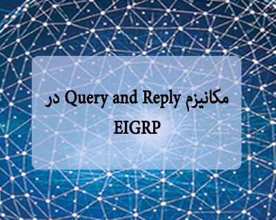 مکانیزم Query and Reply در EIGRP