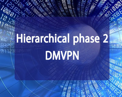 Hierarchical phase 2 DMVPN